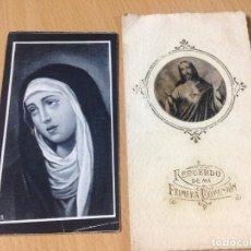 Coleccionismo Papel Varios: ANTIGUAS ESTAMPAS RELIGIOSAS MELILLA. Lote 99664595