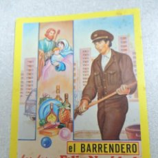 Coleccionismo Papel Varios: EL BARRENDERO FELICITACION. Lote 99874923
