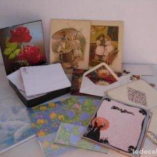 Coleccionismo Papel Varios: ANTIGUAS CARTAS Y SOBRES .. Lote 100021127