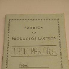 Coleccionismo Papel Varios: ANTIGUA LIBRETA DE PROVEEDOR. Lote 100494984