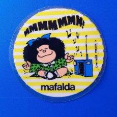 Coleccionismo Papel Varios: RARO PARCHE DE PLASTICO DE MAFALDA - PUBLICOR 1987. Lote 100537159
