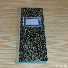Coleccionismo Papel Varios: ANTIGUA LIBRETA - AÑOS 50 - TAPA DURA.. Lote 101111359
