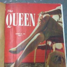 Coleccionismo Papel Varios: REVISTA THE QUEEN 1954 OCT. NOV. DICIEM +SUPLEMENTO NAVIDAD ENCUADERN. VER FOTOS. Lote 101634483