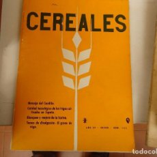 Coleccionismo Papel Varios: CEREALES. Lote 102268975
