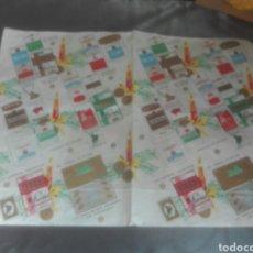 Coleccionismo Papel Varios: ANTIGUO PAPEL CON PUBLICIDAD DE TABACOS GRAN TAMAÑO. Lote 102679298