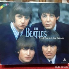 Coleccionismo Papel Varios: BEATLES - A 1998 YEAR IN A BOX CALENDAR- CALENDARIO DE MESA-1998- USA- PAUL MCCARTNEY- JOHN LENNON. Lote 102828039