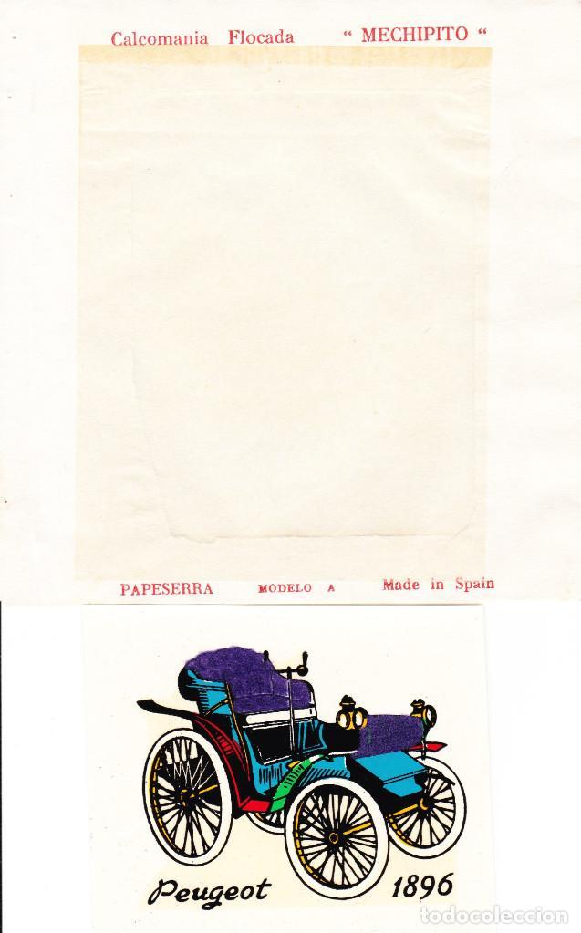 CALCOMANIA PEUGEOT 1896 (Coleccionismo en Papel - Varios)