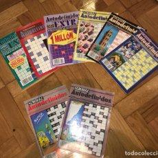 Coleccionismo Papel Varios: LOTE DE AUTODEFINIDOS 1985 - 1995. Lote 103132766