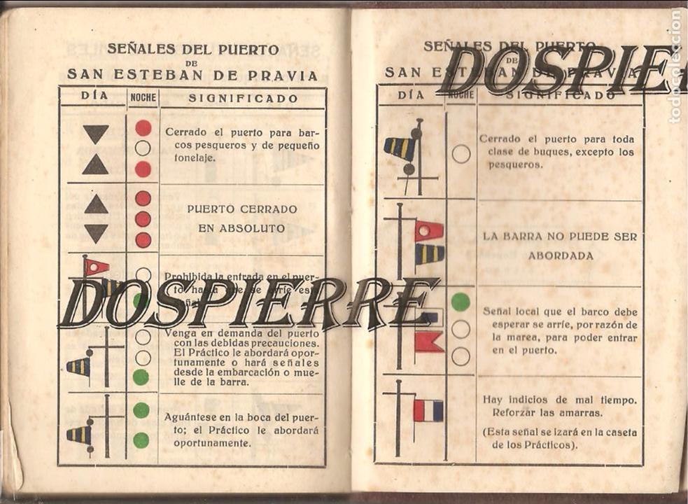 Coleccionismo Papel Varios: TABLA DE MAREAS, 1953, TALLERES GRÁFICOS EDITORIAL VASCA, BILBAO - Foto 6 - 103235615