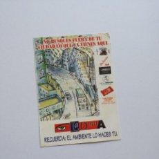 Coleccionismo Papel Varios: FLYER ENTRADA INVITACION - DISCOTECA LA DAMA. Lote 103572079
