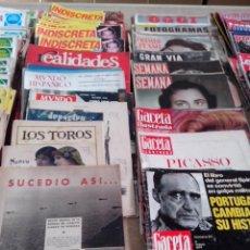 Coleccionismo Papel Varios: TODO TIPO DE PAPEL MAS DE 100.000 ARTICULOS DESDE AÑOS 40 A AÑOS 90 VER TODAS LAS FOTOS. Lote 103869455