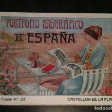 Coleccionismo Papel Varios: PORTAFOLIO FOTOGRAFICO-CASTELLON DE LA PLANA. Lote 103948307