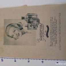 Coleccionismo Papel Varios: PUBLICIDAD DE REVISTA 1960 - COLONIAS PERFUMADAS MYRURGIA. Lote 103963287