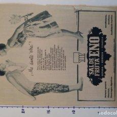 Coleccionismo Papel Varios: PUBLICIDAD DE REVISTA 1960 - SAL DE FRUTA ENO. Lote 103963455