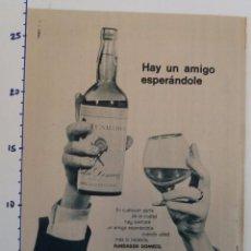 Coleccionismo Papel Varios: PUBLICIDAD DE REVISTA 1960 - FUNDADOR. Lote 103963951