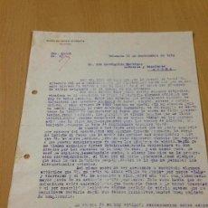 Coleccionismo Papel Varios: ANTIGUA CARTA COMERCIAL VIUDA DE CÈSAR GIORGETA A LIBRERIA AYORA VALENCIA. Lote 103963959