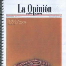 Coleccionismo Papel Varios: SEMANA SANTA ZAMORA 2009. DOSSIER DE SEMANA SANTA. (VER FOTOS Y DESCRIPCIÓN). Lote 103968167