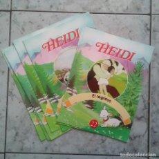 Coleccionismo Papel Varios: HEIDI - 7 FASCICULOS. RBA. Lote 103969291