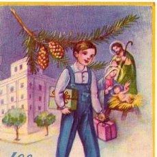 Coleccionismo Papel Varios: EL APRENDIZ LES DESEA FELICES PASCUAS. Lote 104097215