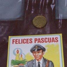 Coleccionismo Papel Varios: TARJETA DE FELICITACION - FELICES PASCUAS - EL CARTERO. Lote 104287099