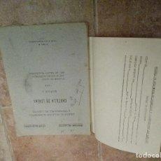 Coleccionismo Papel Varios: CARTILLA DE LÍNEAS. 1953.. Lote 104801431
