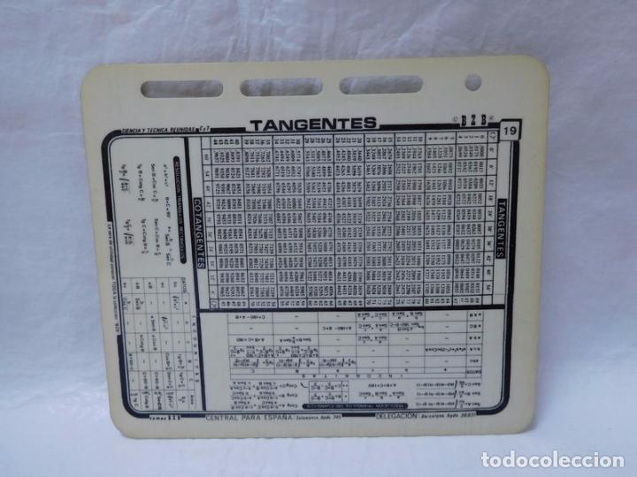 M69 ficha chuleta aos 70 80 de trigonometria t comprar en m69 ficha chuleta aos 70 80 de trigonometria tangentes temas bzb coleccionismo urtaz Images