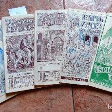 Coleccionismo Papel Varios: 5 REVISTAS ESPIGAS Y AZUCENAS DEL AÑO 1956. Lote 105361855