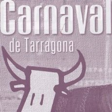 Coleccionismo Papel Varios: HOJA RECORTADA PORTADA CARTEL CARNAVAL TARRAGONA 2001 - MEDIDAS 10 X 19,50 CM.. Lote 105857731