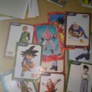 Coleccionismo Papel Varios: LOTE DRAGON BALL GT POSTER O TARJETONES PAPEL. Lote 106029751