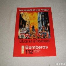 Coleccionismo Papel Varios: LOS BOMBEROS NOS AYUDAN. Lote 107090663