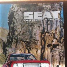 Coleccionismo Papel Varios: REVISTA SEAT N. 71 DE 1973 SEAT 124 SPORT 1800 AUTOMÓVIL. Lote 107720423