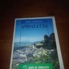 Coleccionismo Papel Varios: MAPA TURÍSTICO ANDALUCÍA. JUNTA DE ANDALUCÍA. EST24B2. Lote 108048347
