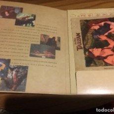 Coleccionismo Papel Varios: CARPETA TARZÁN. ABC. TIENE EL CALENDARIO DEL AÑO 2000 MÁS ALMOHADILLA PARA RATÓN. BUEN ESTADO. Lote 109135339