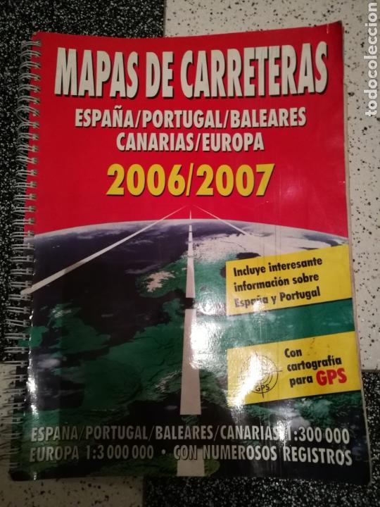 MAPA DE CARRETERAS (Coleccionismo en Papel - Varios)