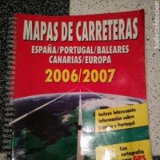 Coleccionismo Papel Varios: MAPA DE CARRETERAS. Lote 109308531