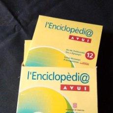 Coleccionismo Papel Varios: L'ENCICLOPÈDI@ AVUI - 12 CD . Lote 109363399