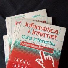 Coleccionismo Papel Varios: INFORMÀTICA I INTERNET - CURSO INTERACTIVO CD. Lote 109363535