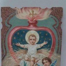 Coleccionismo Papel Varios: ANTIGUA ESTAMPA RELIGIOSA. IMPRESO EN MILÁN 1898. Lote 109406695