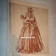 Coleccionismo Papel Varios: RECUERDO.VIRGEN DE CANDELARIA.TENERIFE.RECUERDO FIESTAS DE LA VICTORIA.PERFECTO.CIRCA 1939. Lote 109407231