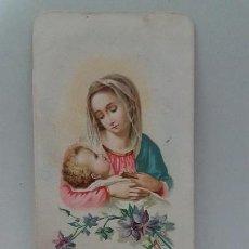 Coleccionismo Papel Varios: ANTIGUA ESTAMPA RELIGIOSA. IMPRESO EN MILÁN 1897. Lote 109407347