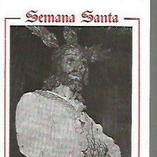 Coleccionismo Papel Varios: SEMANA SANTA DE MALAGA PROGRAMA DE ITINERARIOS DEL AÑO 1989, 8 PAGINAS. Lote 109412943