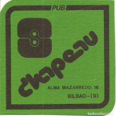 Collectionnisme Papier divers: POSAVASOS-COASTERS, CHAPEAU-PUB, BILBAO, CARTÓN. Lote 109490099