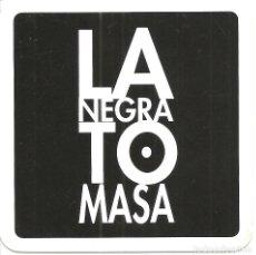 Collectionnisme Papier divers: POSAVASOS-COASTERS, LA NEGRA TOMASA, BILBAO, PLÁSTICO. Lote 109490499