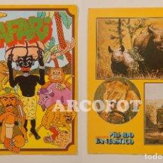 Coleccionismo Papel Varios: 1980 BRUGUERA - OCA - SAFARI - COLECCIÓN MUNDO FANTÁSTICO. Lote 109549115