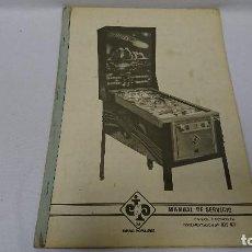 Coleccionismo Papel Varios: MANUAL TÉCNICO,PIN BALL, HALLEY COMET , RECREATIVOS. Lote 110113023