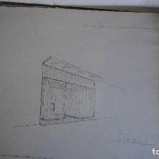 Coleccionismo Papel Varios: BOCETO ARQUITECTURA. Lote 110314975