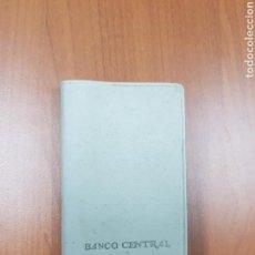 Coleccionismo Papel Varios: AGENDA BANCO CENTRAL - 1968 - CAR08. Lote 110682734