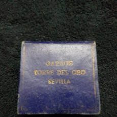 Coleccionismo Papel Varios: LIBRETA PUBLICIDAD GARAGE TORRE DEL ORO SEVILLA 1952. Lote 110834492