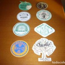 Coleccionismo Papel Varios: LOTE 8 POSAVASOS DE PUB BARES CARTULINA. Lote 111047167
