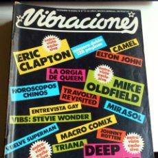 Coleccionismo Papel Varios: REVISTA VIBRACIONES NOS 51-52 ERIC CLAPTON DEEP PURPLE ROCK ROCKANDROLL. Lote 111411107